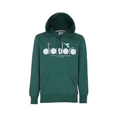 Diadora - Felpa HOODED SWEAT BL per uomo