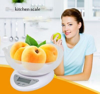 5Kg/1g  Digital LCD Electronic Kitchen Cooking Food Weighing Scales Food Scale