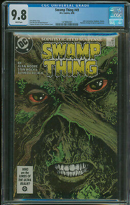 Swamp Thing #49 CGC 9.8 1st appearance of Justice League Dark