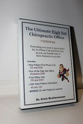 Erich Breitenmoser Creating the Ultimate Chiropractic Office Program $1975