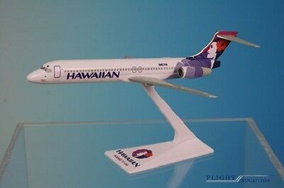 Flight Miniatures Hawaiian Airlines Boeing 717-200 1/200 Scale Model with Stand