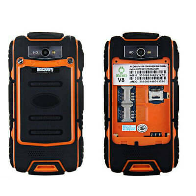 3G Smartphone Unlocked Land V19 Rover Android Rugged Mobile Dual SIM Yellow
