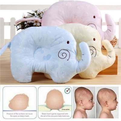 Newborn Baby Anti-Roll Foam Infant Memory Pillow Prevent Flat Head Support Neck