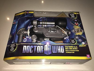 Doctor Who Laser Phaser Special Edition A+ Never Opened RARE Dalek Cyberman Unit