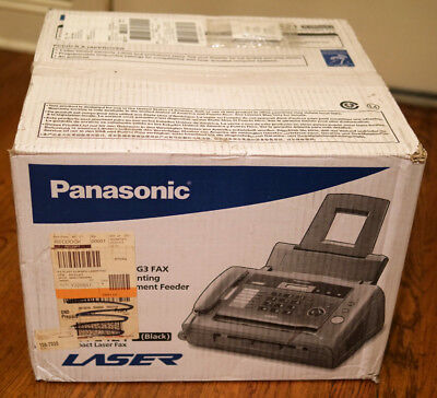 NEW Panasonic KX-FL421 Fax/Copier Machine - Laser - Monochrome Sheetfed Digital