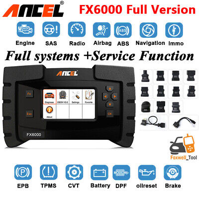 CAR ENGINE ABS airbag all systems diagnostic tool Oilreset EPB TPMS DPF  scanner