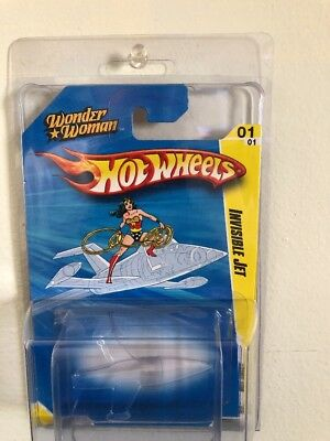 2010 Hot Wheels SDCC San Diego Comic Con Wonder Woman Invisible Jet super rare