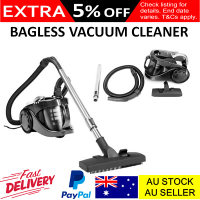 Cyclonic Bagless Vaccum Cleaner Powerful 2800W HEPA Filter Home Vac Cleaning