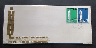 Singapore...1969 Homes For The People...fdc...