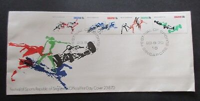 Singapore...1970 Festival Of Sports...fdc...