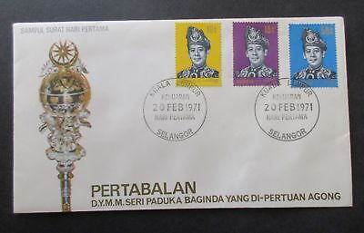 Malaysia ..1971 Installation Of Yang Cover....
