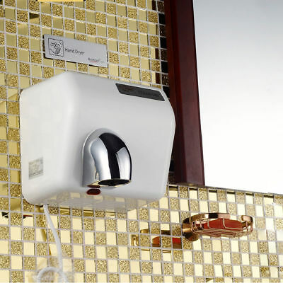 360°Rotational Wall Mounted Automatic Hand Dryer Device For Household Hotel