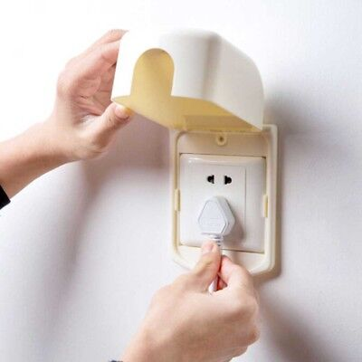 1pc Home Switch Protector Children Anti Electric Shock Switch Cover Box Protect