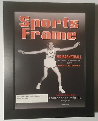 6 PACK of new magazine, Sports, & Illustrated label, display picture frame