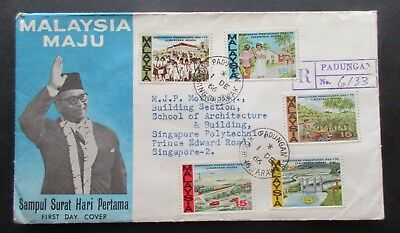 Malaysia ..1966  Malaysia  Plan.... First Day Cover....with Information Booklet