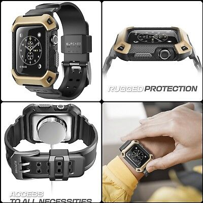 Protective Rugged Watch Case Cover Accessories For 42mm Apple iWatch Series 2