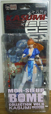 Kasumi Dead Or Alive Kaiyodo Mon-Sieur Bome Collection Vol15 Sexy Figure Blue