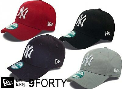 ae77160595c NEW ERA 9FORTY League Basic NY Yankees Adjustable Baseball Cap ...