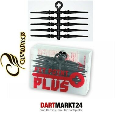 50 Cosmo Darts Fit Point Plus Soft Dart Spitzen 2Ba 4 Farben Sehr Langlebig Dart