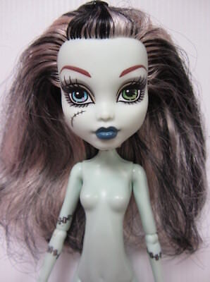 Mattel MONSTER HIGH DOLL - FRANKIE STEIN Scaris - Nude