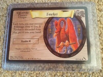 Harry Potter Trading Card Game TCG - Chamber of Secrets Rare #20/140 +10 Common