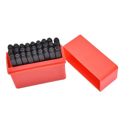 3mm Marking Stamps Steel Hand Metal Punch Letters Die Tool Craft in Case