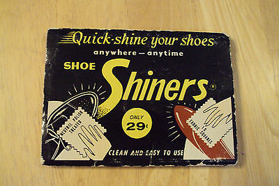 "Vtg 1950's Cadie Chemical Products~""SHOE SHINERS""~NYC~Paper Ephemera~"