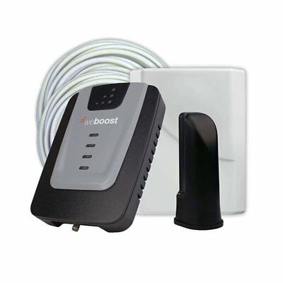 weBoost Home 4G Wireless Cellphone Signal Booster Kit (Certified Refurbished)