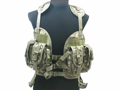 Tactical 97 Military US Navy Seal Combat Vest Hydration Bag Airsoft Paintball CP