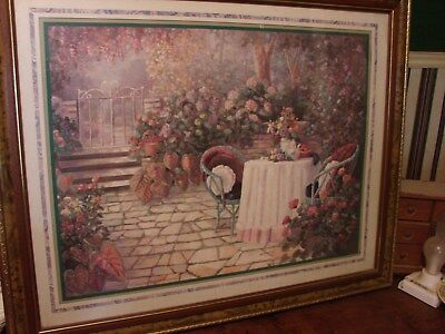 """Morning In The Garden Home Interior Picture 26"""" x 31"""""""