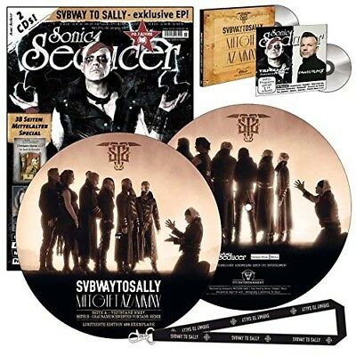 Limitierte Subway To Sally Picture-Vinyl (499 Exemplare) + Sonic Seducer 03/2015