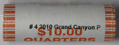 2010 P Grand Canyon National Park Roll America the Beautiful Quarter Program