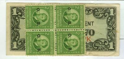 U.S. revalued Japanese Invasion Philippine 1¢ (cent) Fractional Note to Nine 9¢