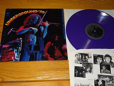 Underground '70 - The Sound Of The Seventies / Germany-Colour-Lp (Spr-35) Ex