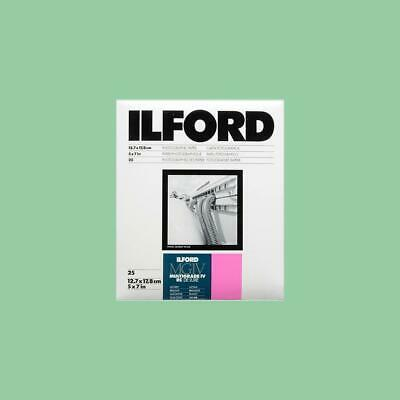 Ilford MGIV RC Multigrade 5x7 (12.7x17.8) 25 Sheets Glossy Darkroom Paper