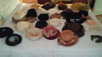 Vintage Hats Lot of 30