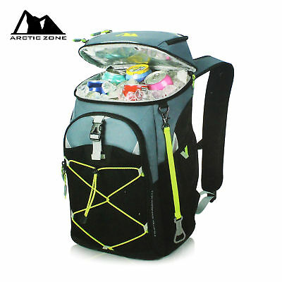 Arctic Zone 12.5 Litre 24 Can Ultra Backpack Cooler Ice Bag Food/Drinks 2018