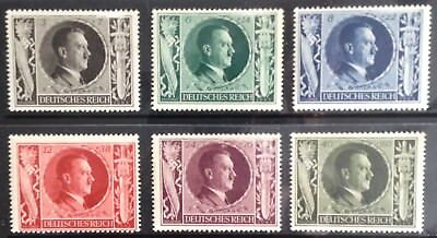 Germany Third Reich 1943 Hitler's 54th Birthday issues MNH