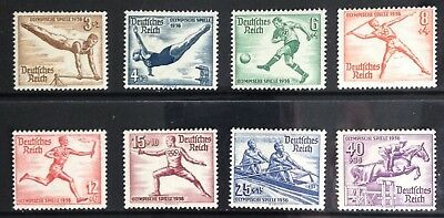 Germany Third Reich 1936 Olympic issues MLH