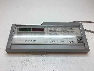 CEIA Security Metal Detector 02PN20 Control Panel ONLY - Pulled From Working Sys