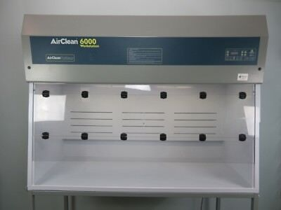 Airclean 6000 Clean Bench Workstation 6 Feet with Warranty SEE VIDEO