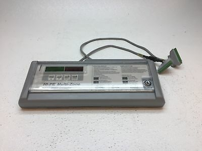 CEIA HI-PE Multi-Zone Metal Detector Control Panel ONLY -Pulled from Working Sys