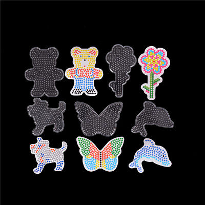 5pcs/set Mixed Patterns Puzzles For 5mm Hama Beads DIY Kids Craft Stencil Toys!T