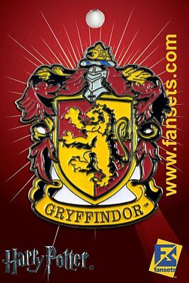 Harry Potter - Gryffindor House Crest - Lapel/hat Pin - Brand New - Fs0003