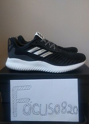 a2470ff3746a9 Adidas Performance Alphabounce RC M Men s Running Shoes Black B42652 SZ10.5