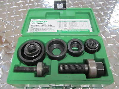 "Greenlee 735/735BB Knockout Punch Set 1/2"", 3/4"", 1"", 1-1/4"""