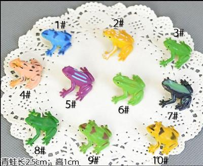 Tree Frog toy collection