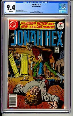 JONAH HEX #1  CGC 9.4 WP  DC Comics 3-4/77  1st Issue! (All-Star Western #10)