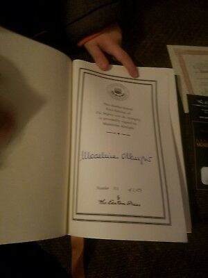 The Mighty and the Almighty  Madeleine Albright  Signed  1st Edition Easton Pres