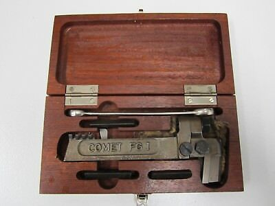 Vintage Comet FG1 Lathe Threading Tool System in Original Case_Made in Germany